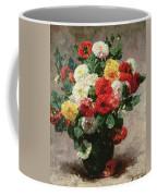 Carnations In A Vase Coffee Mug