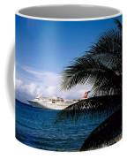 Carnival Docked At Grand Cayman Coffee Mug
