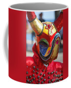 Carnival Red Duck Portrait Coffee Mug