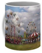 Carnival - Traveling Carnival Coffee Mug by Mike Savad