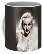 Carole Lombard, Vintage Actress By John Springfield Coffee Mug