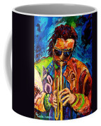 Carole Spandau Paints Miles Davis And Other Hot Jazz Portraits For You Coffee Mug