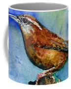 Carolina Wren And Baby Coffee Mug