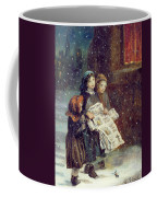 Carols For Sale  Coffee Mug by Augustus Edward Mulready