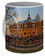 Carousel At Dusk Coffee Mug