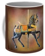 Carousel Black Stallion Body Coffee Mug