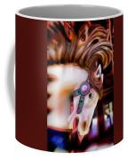 Carousel Horse Portrait Coffee Mug