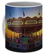 Carousel Sunset Coffee Mug