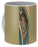 Carp Ascending A Waterfall Coffee Mug