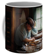Carpenter - Carving The Figurehead  Coffee Mug
