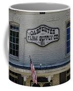 Carpenter Farm Supply Co Sign Coffee Mug