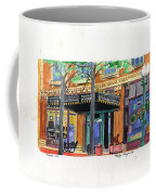 Carpenter Hotel-rain Coffee Mug