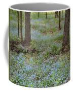 Carpet Of Blue Coffee Mug