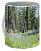 Carpet Of Lupine In Washington Forest Coffee Mug