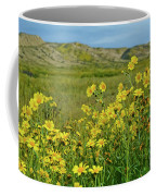 Carrizo Plain Yellow Daisies Coffee Mug