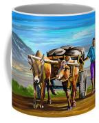 Cart Man Coffee Mug