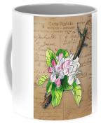 Carte Postale. Blossoming Apple Coffee Mug
