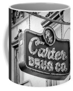 Carter Drug Co - Bw Coffee Mug