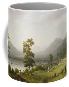Carter's Tavern At The Head Of Lake George Coffee Mug by Francis Guy