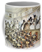 Cartoon: Anti-trust, 1889 Coffee Mug