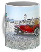 Cartoon Car Coffee Mug