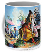 Cartoon: Cuba, 1895 Coffee Mug