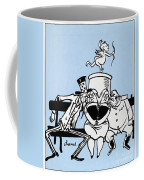 Cartoon: Germany Divided Coffee Mug