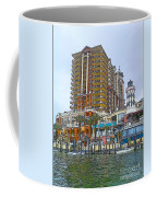 Cartoon Skyscraper  Coffee Mug
