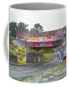 Cartoon Street Art Coffee Mug