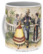 Cartoon: Uncle Sam, 1898 Coffee Mug