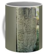 Carved Danzantes Stone Coffee Mug