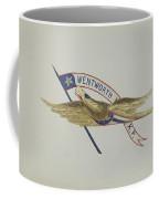 Carved Eagle Coffee Mug