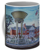Cary Arts Center And Fountain Coffee Mug