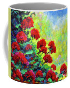 Cascade Of Geraniums Coffee Mug