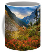 Cascade Pass Fall Coffee Mug by Inge Johnsson