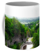 Cascadilla Gorge Cornell University Ithaca New York Panorama Coffee Mug