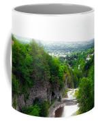 Cascadilla Gorge Cornell University Ithaca New York Panorama Coffee Mug