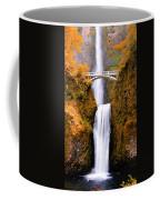 Cascading Gold Waterfall Coffee Mug