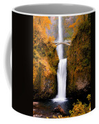 Cascading Gold Waterfall II Coffee Mug
