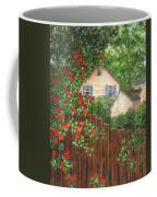 Cascading Roses Coffee Mug