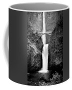 Cascading Waterfall Multnomah Falls Coffee Mug