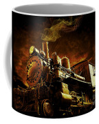 Casey Jones And The Cannonball Express Coffee Mug by Edward Fielding