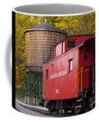 Cass Railroad Caboose Coffee Mug