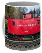 Cass Red Caboose Coffee Mug