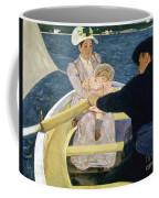 Cassatt: Boating, 1893-4 Coffee Mug by Granger
