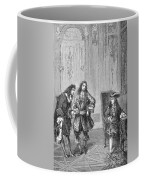 Cassini Presented To Louis Xiv, 1669 Coffee Mug
