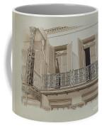 Cast Iron Balcony Rail Coffee Mug