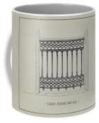 Cast Iron Balcony Railing Coffee Mug