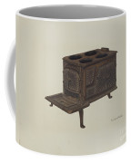 Cast Iron Toy Stove Coffee Mug