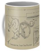 Cast Iron Urn Holder Coffee Mug